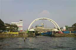 rainbow bridge in ernakulam