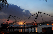 chinese fish net in fort cochin